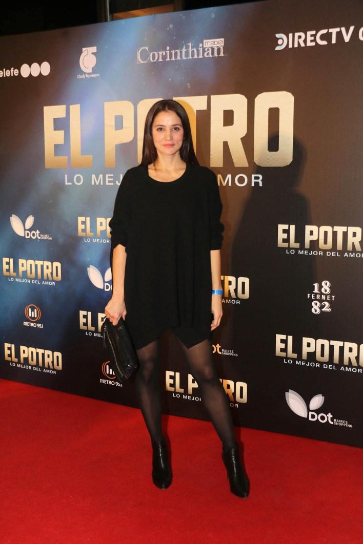 La actriz Bárbara Lombardo
