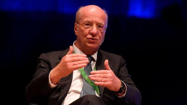 El presidente de Techint, Paolo Rocca (Maximiliano Luna)