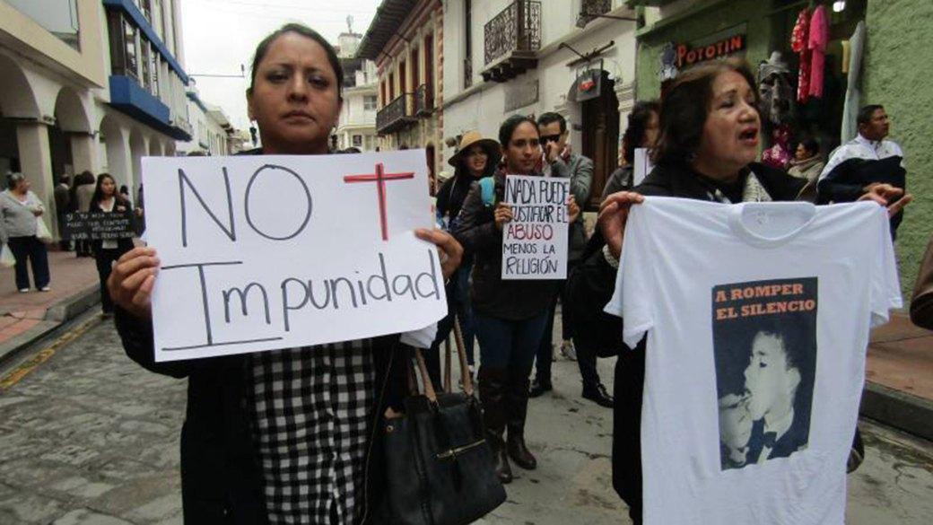Protestas contra César Cordero