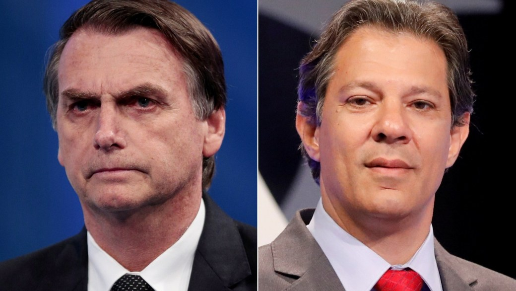 Jair Bolsonaro fue el gran ganador del domingo, pero no llegó al 50% de los votos y deberá ir a asegunda vuelta con Fernando Haddad