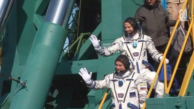 La nave Soyuz regresó a tierra por una emergencia