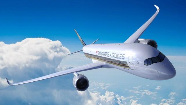 Nueva ruta de Singapore Airlines que conecta la ciudad-estado con el área de Nueva York entró en operación el 11 de octubre, convirtiéndose en el viaje de avión comercial más largo del mundo. (Foto por folleto/Singapore Airlines/AFP)