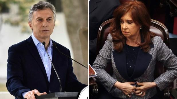 Macri y Cristina, de cara a una elección polarizada