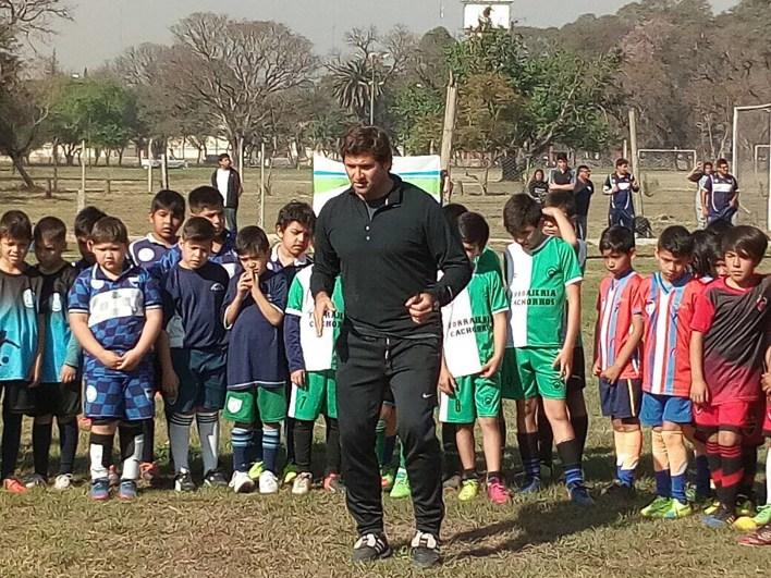 """""""El Mago"""" hace hincapié en el fútbol como herramienta para la educación"""