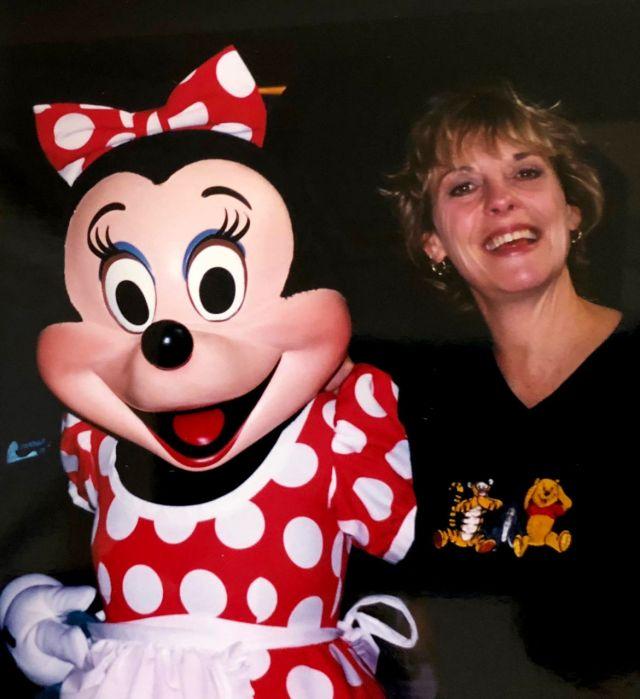 Bonnie Jacksonadoraba los parques temáticos deOrlando. (Familia Jackson Wells)
