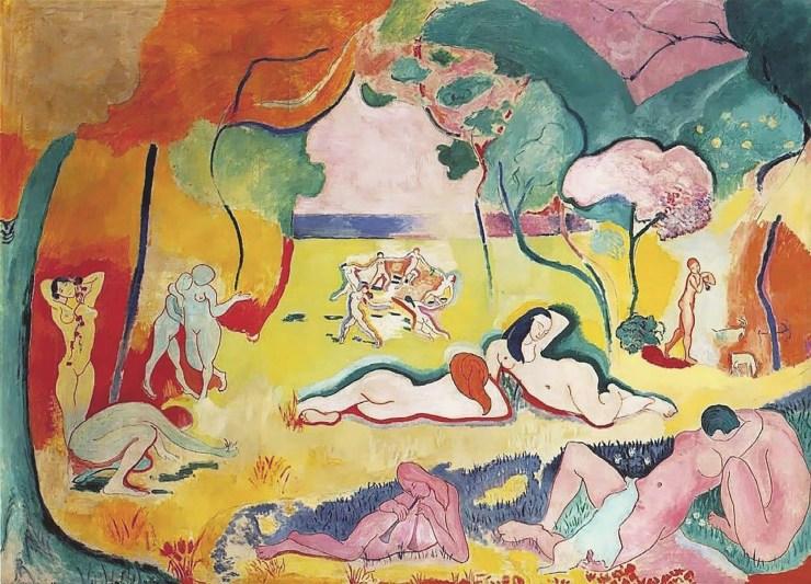 La alegría de vivir de Henri Matisse
