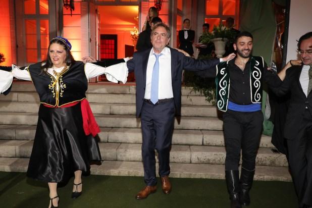 Gonzalo Guerrieri, pareja de Amalia Amoedo, se sumó al baile