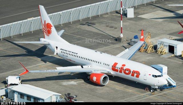 Un Boeing 737 Max 8 igual al que se estrelló tras despegar de Jackarta