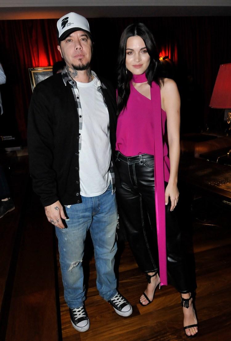Sebastián Ortega y su novia, Carla Moure (Crédito: Teleshow)