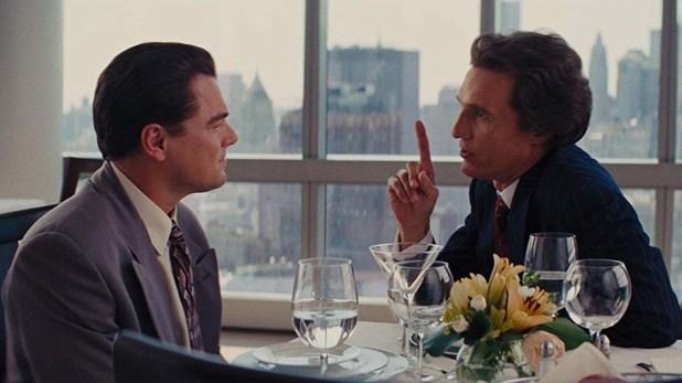 """Matthew McConaughey se destacó en su pequeña participación en """"El lobo de Wall Street"""""""
