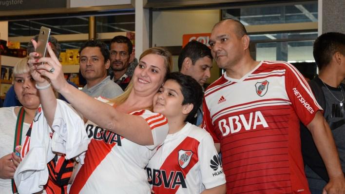 River espera por un rival en la final: será Boca o Palmeiras (Julieta Ferrario)