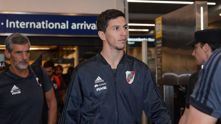 Nacho Fernández, uno de los titulares en el partido ante Gremio (Julieta Ferrario)