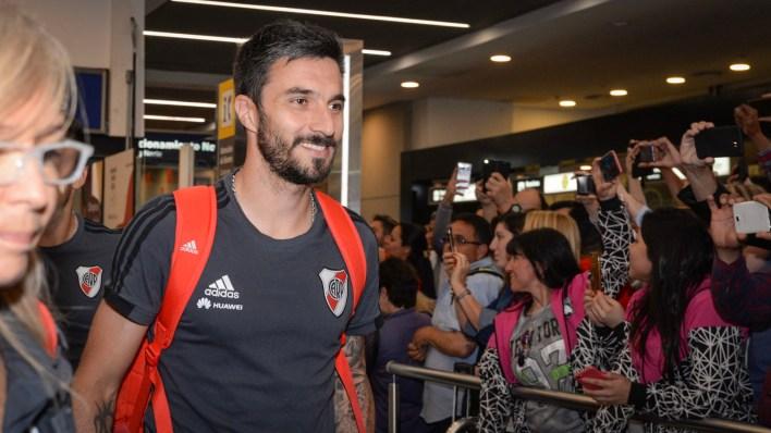 Scocco fue el que generó el penal que convirtió Martínez para el 2-1 definitivo (Julieta Ferrario)