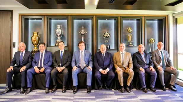 Los presidentes de los clubes semifinalistas se reunieron en Paraguay a mediados de octubre