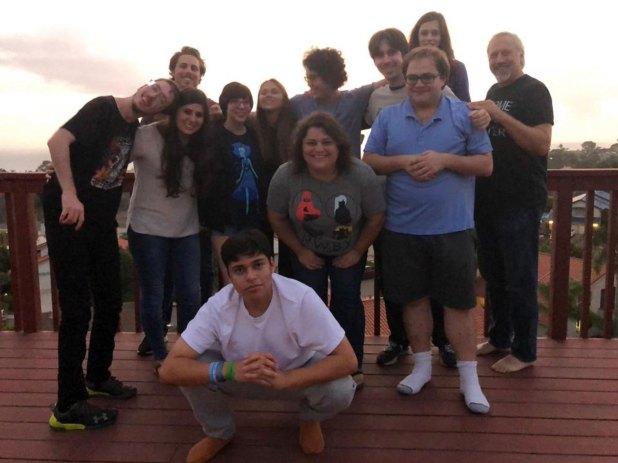 """La nueva """"familia"""" organiza salidas, cenas y vacaciones"""