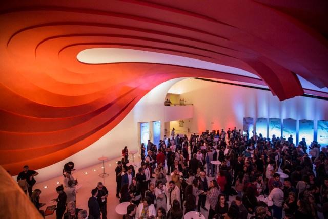 La apertura se realizó en el auditorio Oscar Niemeyer (Secretaría de Culutra de la Nación)