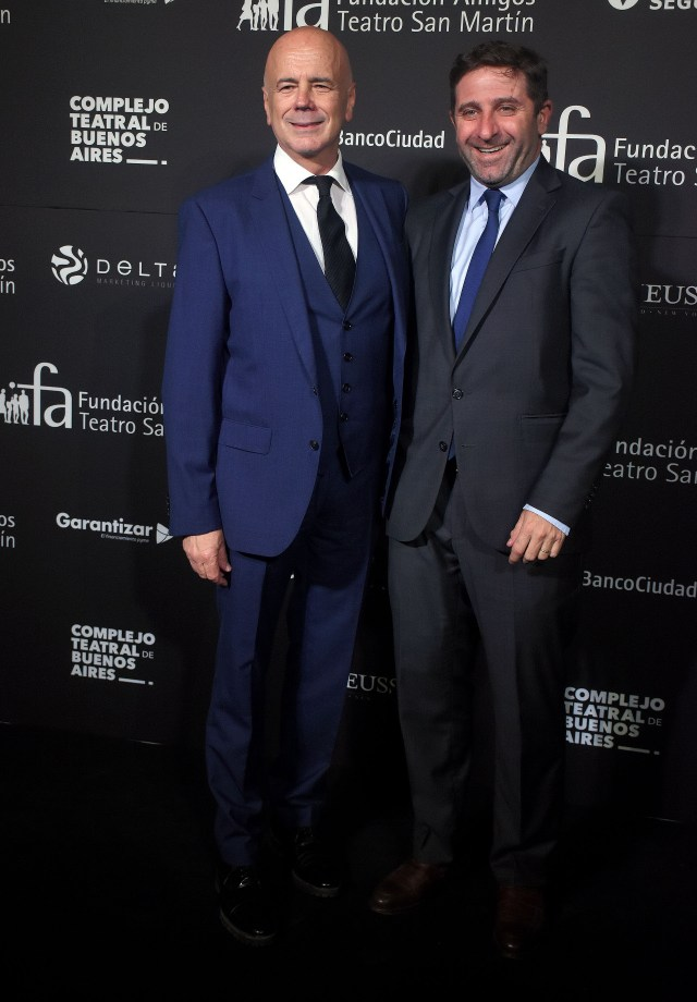 Jorge Telerman y Fernando Straface