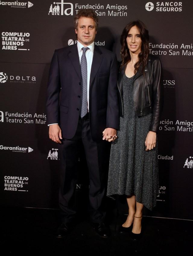 El jefe de Gabinete porteño, Felipe Miguel, y su mujer
