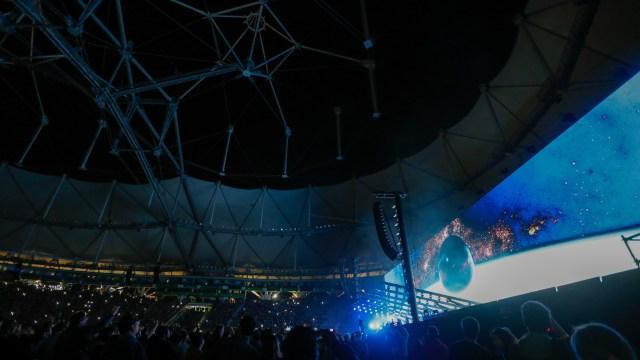 El Estadio Único repleto de fans