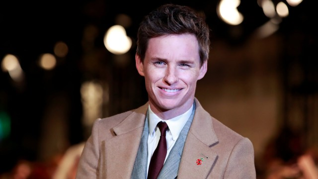 El actor Eddie Redmayne