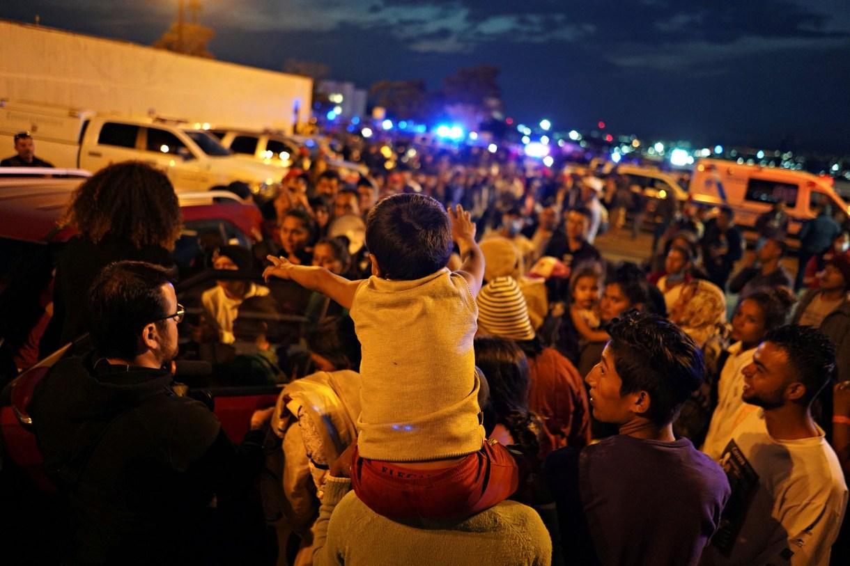 Algunos migrantes, presas de la desesperación, regresaron a sus países (Foto: Reuters)