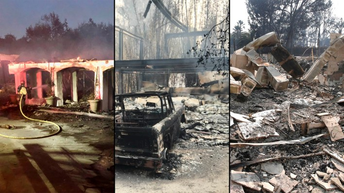 Así quedaron las casas de Scott Derrickson, Gerard Butler y Robin Thicke