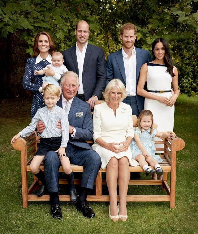 El álbum familiar real en celebración de los 70 años del príncipe Carlos (Reuters)