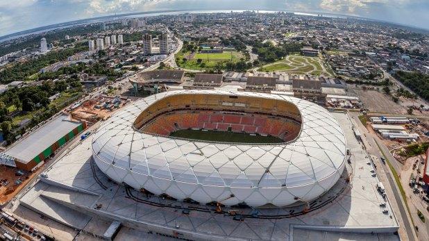 El estadio Arena Amazonia será una de las sedes de la Copa Libertadores femenina