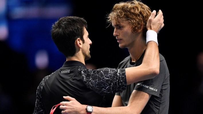 El abrazo entre los jugadores (Reuters)