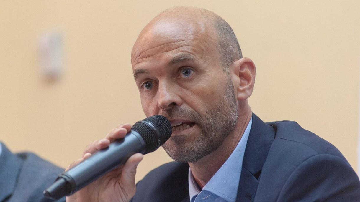 Guillermo Dietrich, ministro de Transporte (Patricio Murphy)