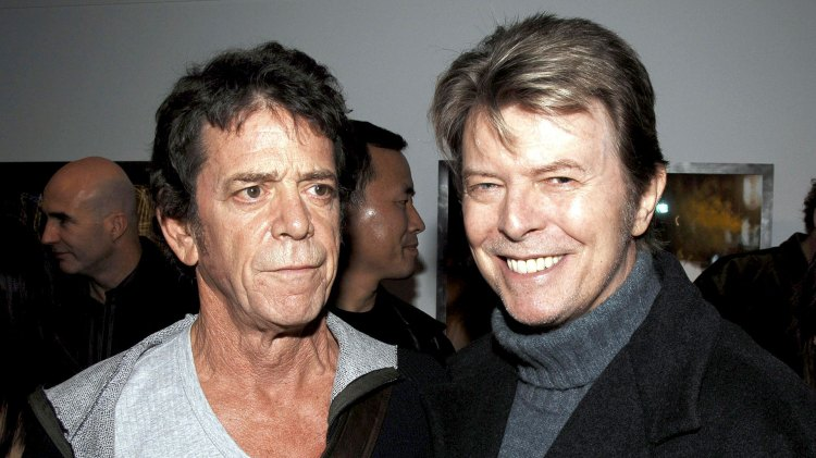 Lou Reed y David Bowie (AFP)