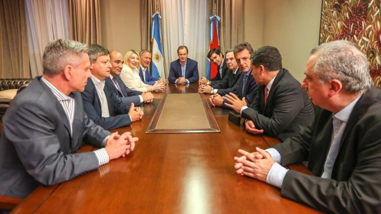 La reunión de Alternativa Federal en la Casa de Entre Ríos (Prensa Casa de Entre Ríos)