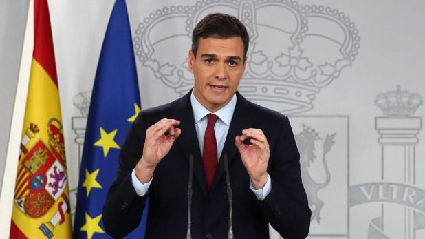 Pedro Sanchez, presidente del gobierno español(REUTERS/Sergio Perez)