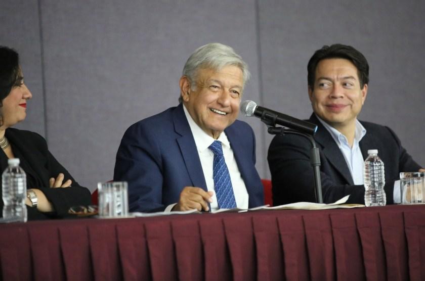 Andrés Manuel López Obrador busca que las organizaciones autónomas ahorren (@Mario_delgado1)