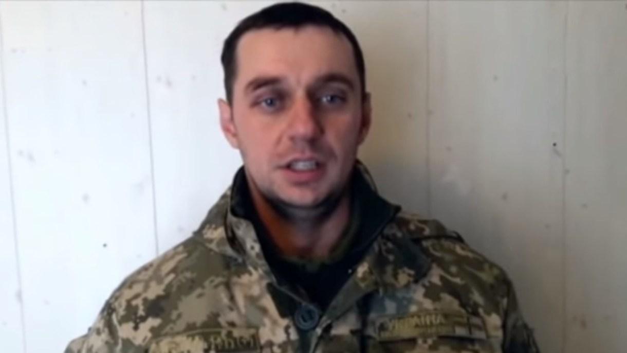 Vladimir Lesovoi, comandante de la División Sur de las Fuerzas Navales de Ucrania