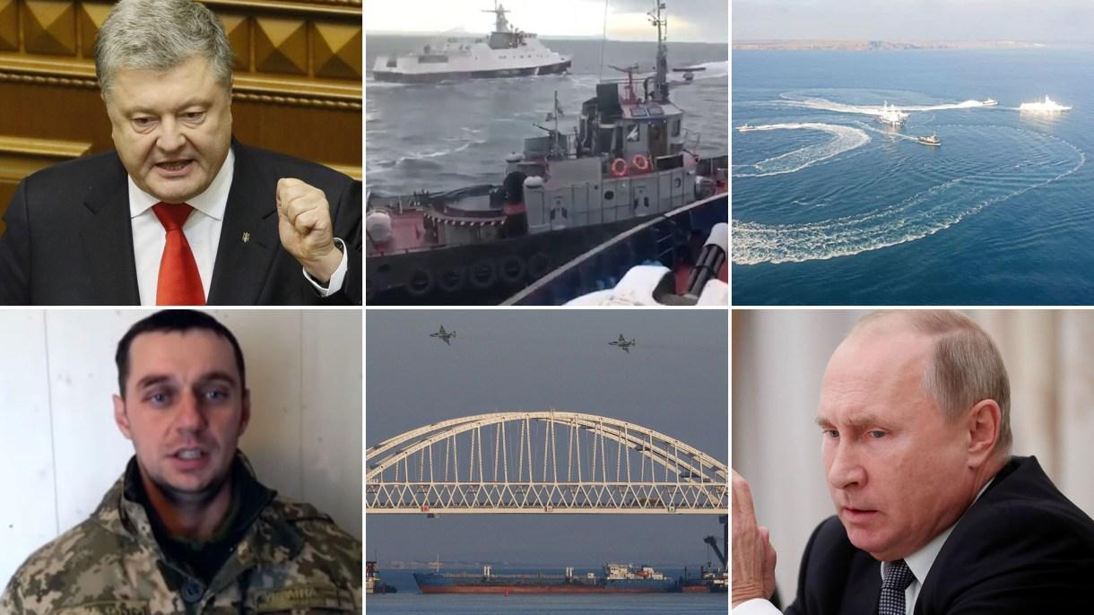 Escenas y protagonistas de una nueva crisis entre Ucrania y Rusia