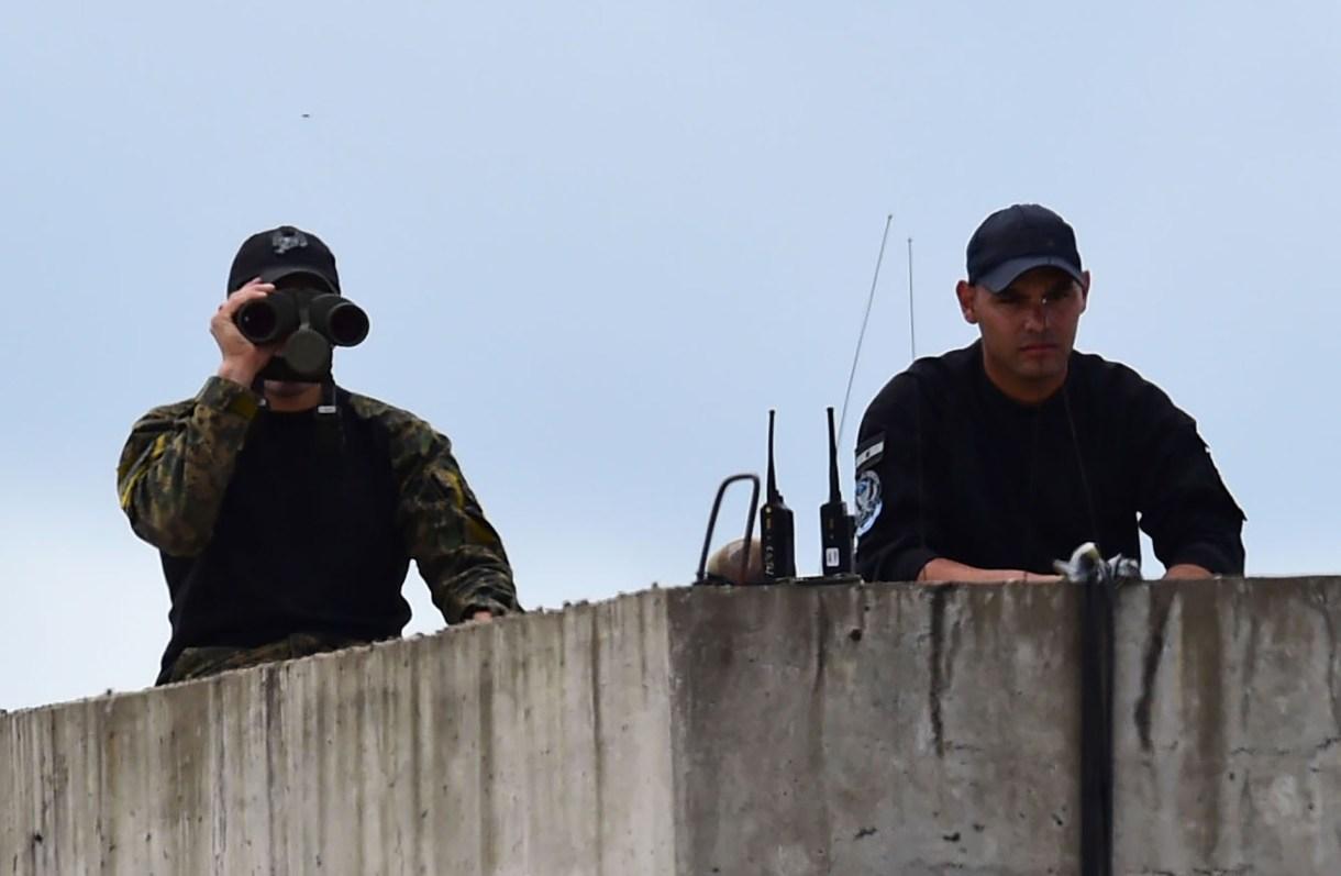 Miles de efectivos de las fuerzas de seguridad custodian la realización de la cumbre del G20(AFP)