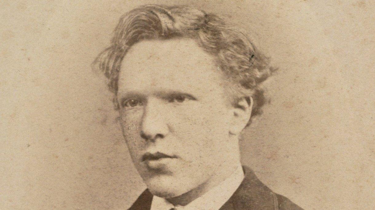 La fotografía se había atribuido a Van Gogh (AFP)