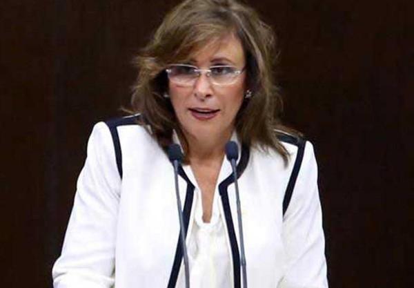 Rocía Nahle, secretaria de Energía no está de acuerdo con la información de OCDE (Foto: Especial)
