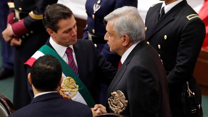 Peña Nieto dejó la Presidencia el 1 de diciembre de 2018 (Foto: EFE)