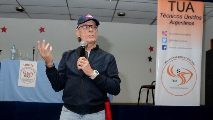 El ex profe de la Selección también habló en el congreso de entrenadores (Foto: Daniel Cosentino)
