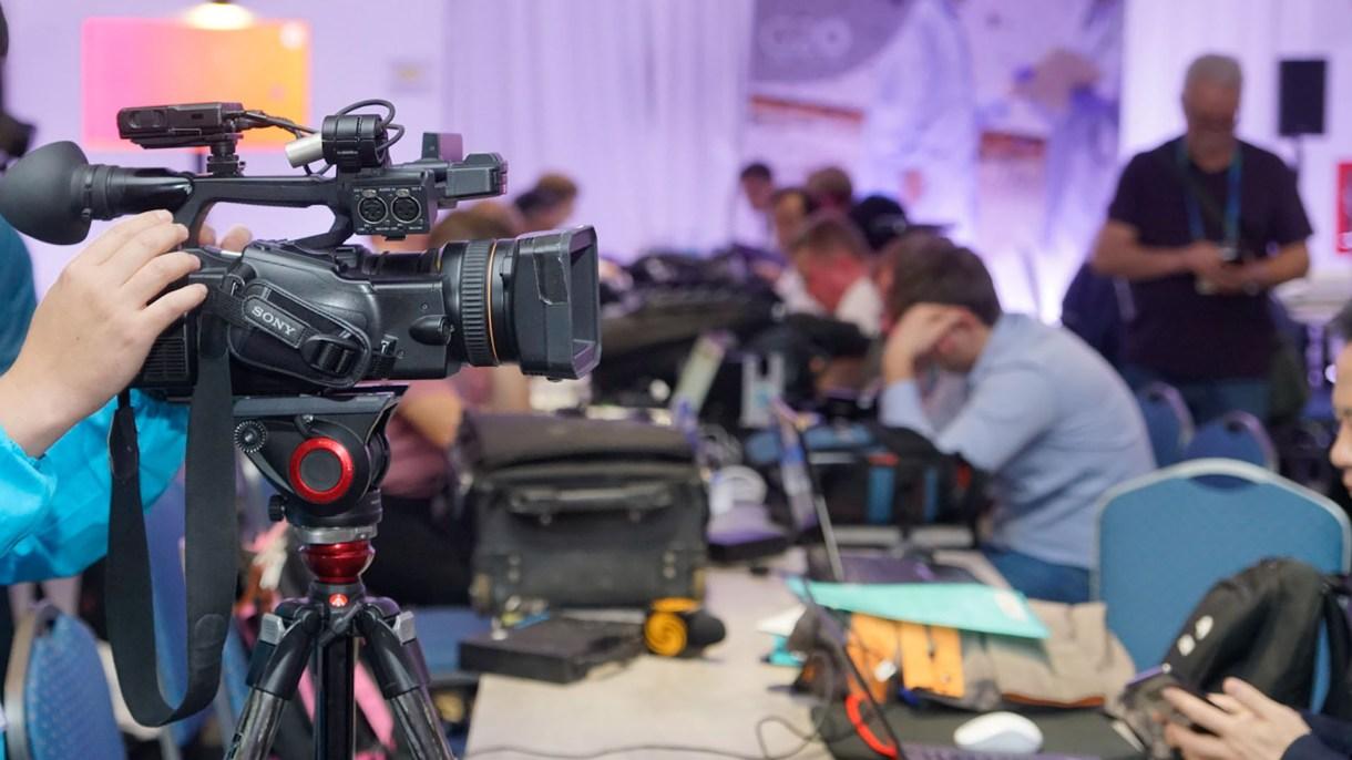 Centro de prensa del G20 en Argentina