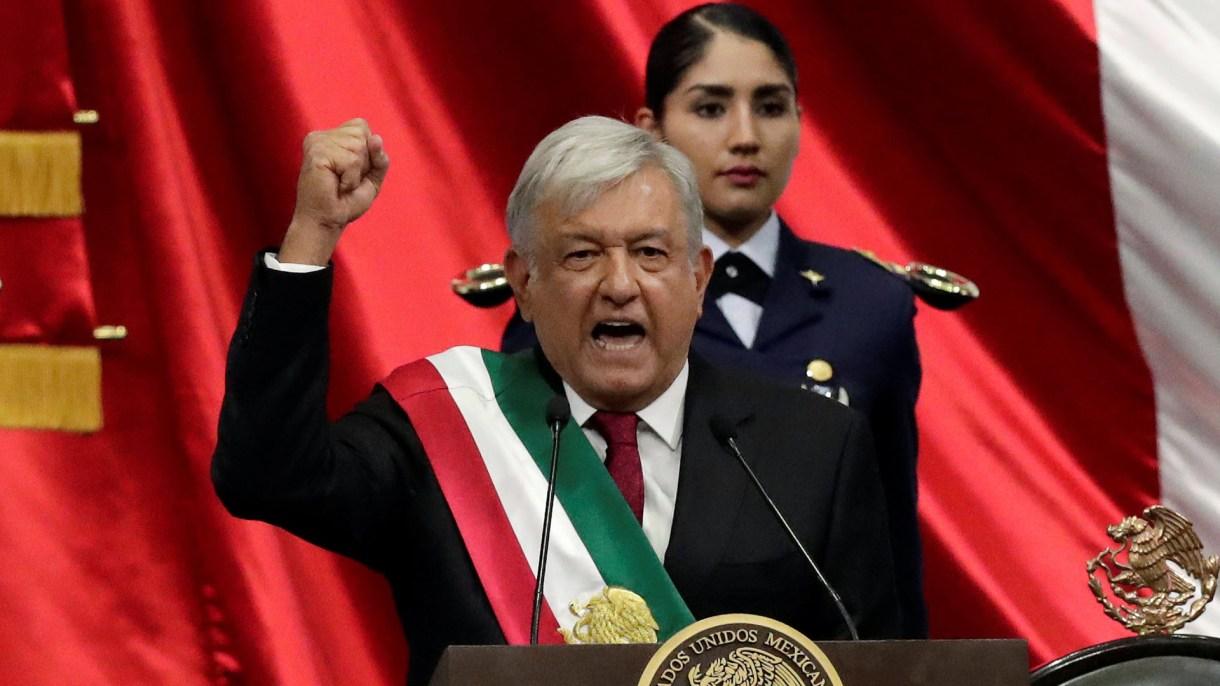 Primer mensaje de López Obrador como presidente. (Foto: Reuters)