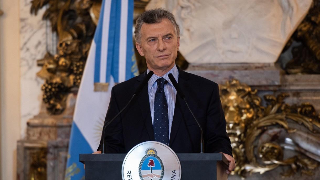 El presidente Mauricio Macri (Adrian Escandar)