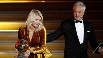 Fue un mal momento para la futbolista Ada Hegerberg (Foto: Reuters)