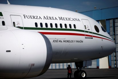Avión presidencial que busca vender Andrés Manuel López Obrador (Foto: REUTERS/Edgard Garrido)