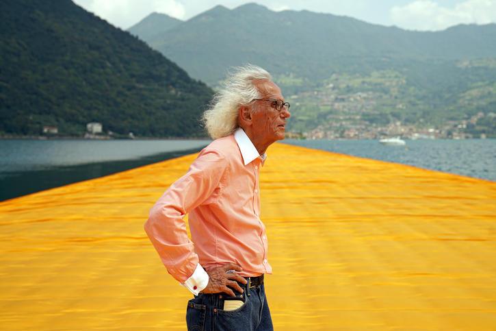 El búlgaro Christo hablará en Art Basel y en el Pérez Art Museum. (Wolfgang Volz/Christo)