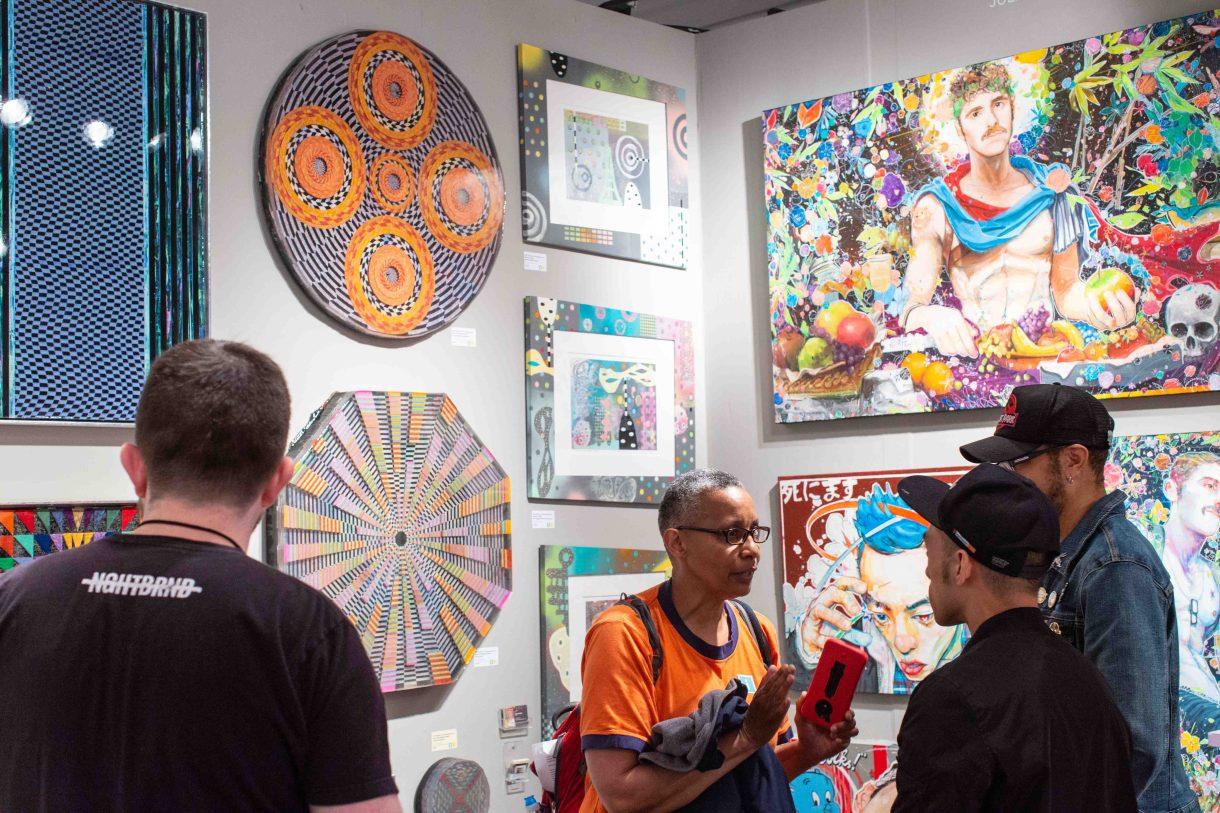 Superfine! quiere instalarse como un mercado abierto para artistas, galerías ycoleccionistas.
