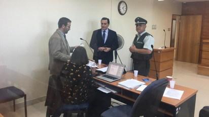 Los abogados defensores de Jones Huala: Pablo Ortega y Karina Riquelme