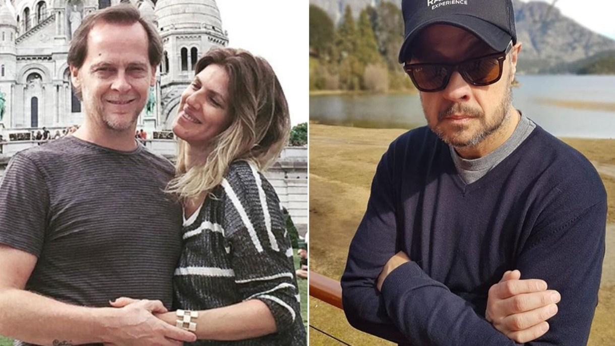 Matías Martin y Natalia Graciano de un lado; Cabito, del otro